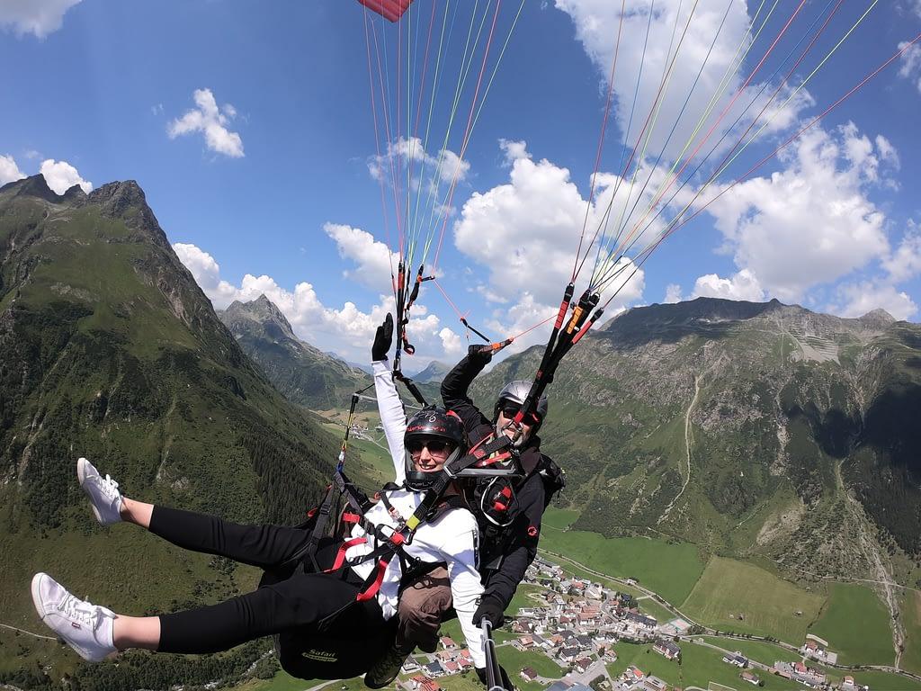 Tandemfliegen Abenteuer Ischgl